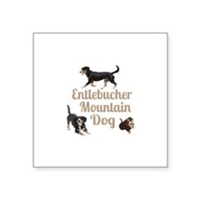 Entlebucher Mountain Dog Sticker