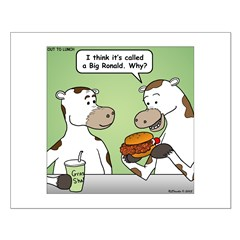 Cow Fast Food Posters