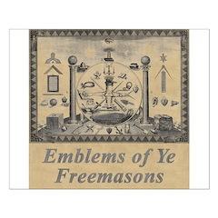 Masonic Emblems Posters