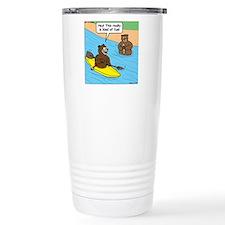 Bear Kayaking Thermos Mug