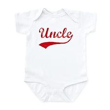 Vintage (Red) Uncle Infant Bodysuit