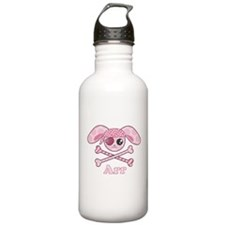 Pink Pirate Water Bottle