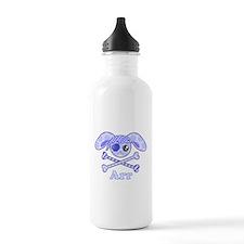 Cute Pirate Bunny Water Bottle
