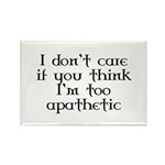 Apathetic Rectangle Magnet (100 pack)