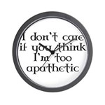 Apathetic Wall Clock