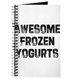 Awesome Frozen Yogurts Journal