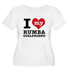 I love my rumba Girlfriend T-Shirt