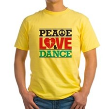 Peace Love and Dance T-Shirt