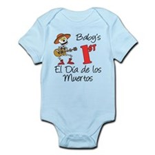 First Day Of The Dead Infant Body Suit