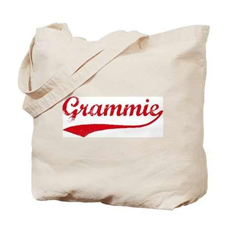 Vintage (Red) Grammie Tote Bag