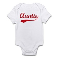 Vintage (Red) Auntie Infant Bodysuit