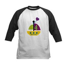Personalized 4th Birthday Sailboat Tee