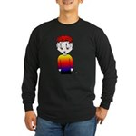Rainbow Man Long Sleeve Dark T-Shirt