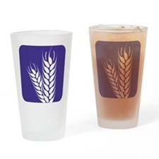 Agriculture Symbol 3a Drinking Glass