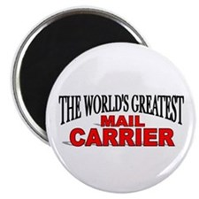 """The World's Greatest Mail Carrier"" Magnet"