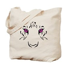 Eye of the Tiger - Pink Tote Bag