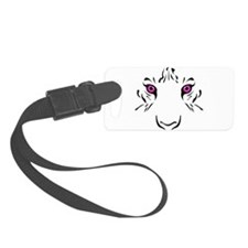 Eye of the Tiger - Pink Luggage Tag