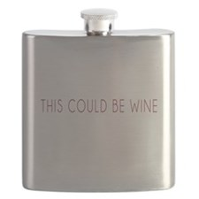 This Could Be Wine Flask