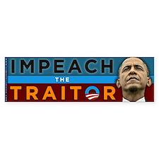 Impeach the Traitor - Obama Bumper Sticker
