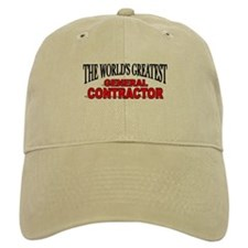 """The World's Greatest General Contractor"" Baseball Cap"