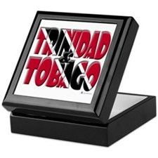 Word Art Trinidad & Tobago Keepsake Box