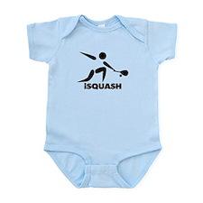 Game Of Squash iSquash Logo Infant Bodysuit