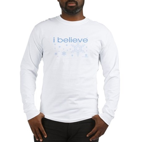 I believe in snow Long Sleeve T-Shirt