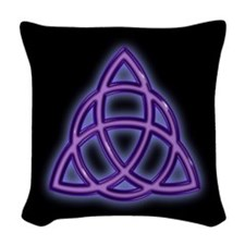 Charmed Triquetra Trinity Symbol (bgc) Woven Throw