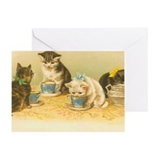 Cute Kitty Greeting Card