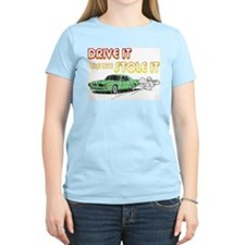 Drive It, Stole It Women's Pink T-Shirt