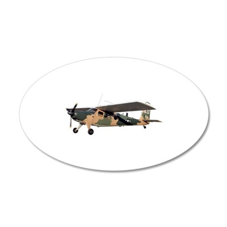 UH-10 FAC Aircraft 35x21 Oval Wall Decal