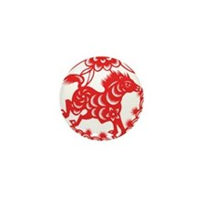 Zodiac, Year of the Horse Mini Button (10 pack)