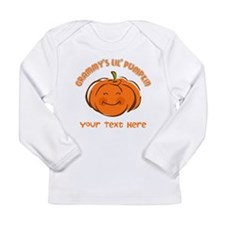 Grammy's Little Pumpkin Personalized Long Sleeve I