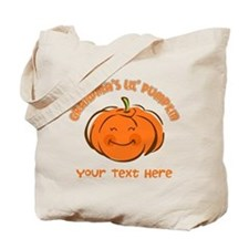 Grandma's Little Pumpkin Personalized Tote Bag