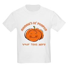 Mamaw's Little Pumpkin Personalized T-Shirt
