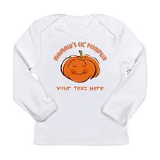 Mamaw's Little Pumpkin Personalized Long Sleeve In
