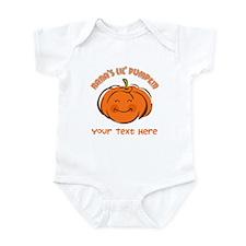 Nana's Little Pumpkin Personalized Infant Bodysuit