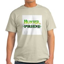 Hunter Pride<br> Ash Grey T-Shirt