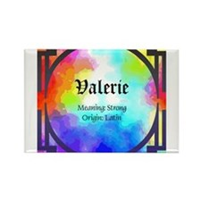Valerie Rectangle Magnet