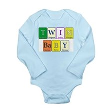 Twin Baby Body Suit