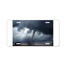 Tornado Aluminum License Plate