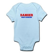 DANGER-MEN-COOKING-FRESH-RED-BLUE Body Suit