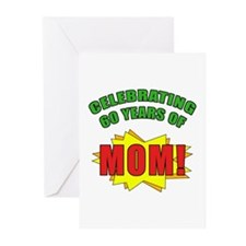 Celebrating Mom's 60th Birthday Greeting Cards (Pk