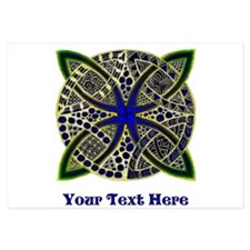 Customize this Symbolic Celtic Knot Doodle Invitat