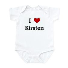 I Love Kirsten Infant Bodysuit