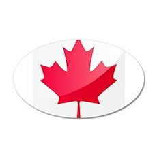Canada, Flag, Canadian, Maple Leaf Wall Decal