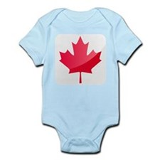 Canada, Flag, Canadian, Maple Leaf Body Suit