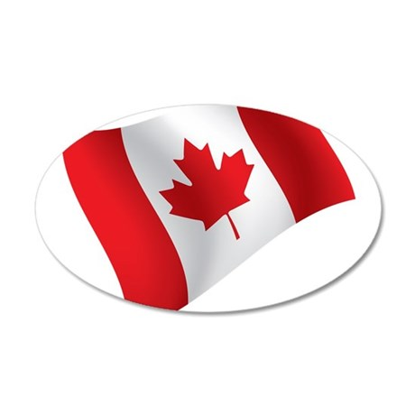 Canada, Flag, Canadian, Maple Leaf Wall Decal
