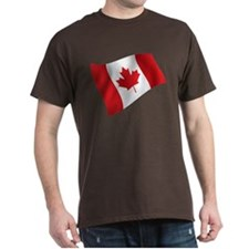 Canada, Flag, Canadian, Maple Leaf T-Shirt