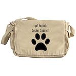 got English Cocker Spaniel? Messenger Bag